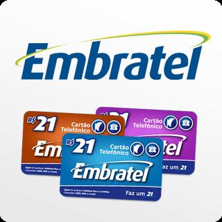 Cartão Telefonico Embratel 20